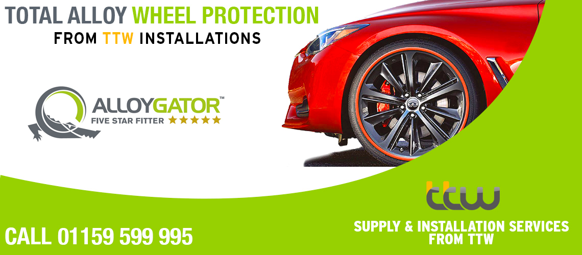 TTW INSTALLATIONS AUTHORISED ALLOY GATOR Award Winning AlloyGator Wheel Protection prevents kerb damage to wheels